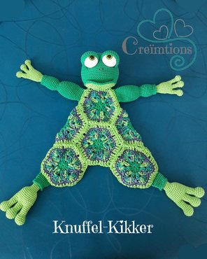 Patroon Knuffel-Kikker