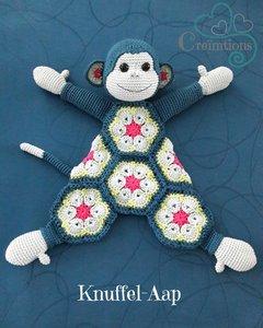 Patroon Knuffel-Aap